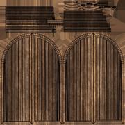 Anahtar Halkalı Çift Kapı 3d model