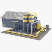Industriële apparatuur 6 3d model