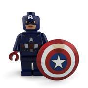 キャプテン・アメリカ 3d model