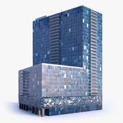 Skyscraper Building 18 3d model