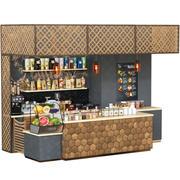 카페 바 3d model