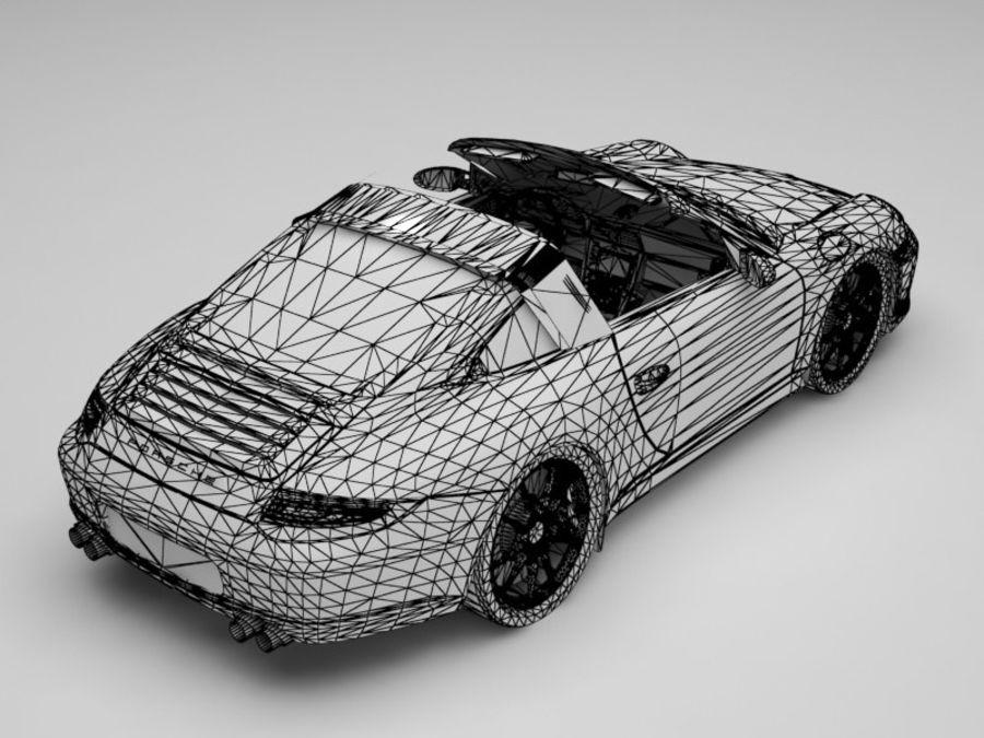 Porsche 911 royalty-free 3d model - Preview no. 13