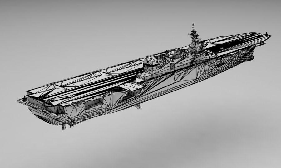 Statek marynarki wojennej royalty-free 3d model - Preview no. 13