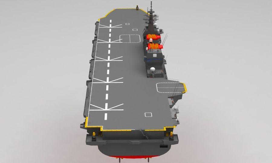 Statek marynarki wojennej royalty-free 3d model - Preview no. 4