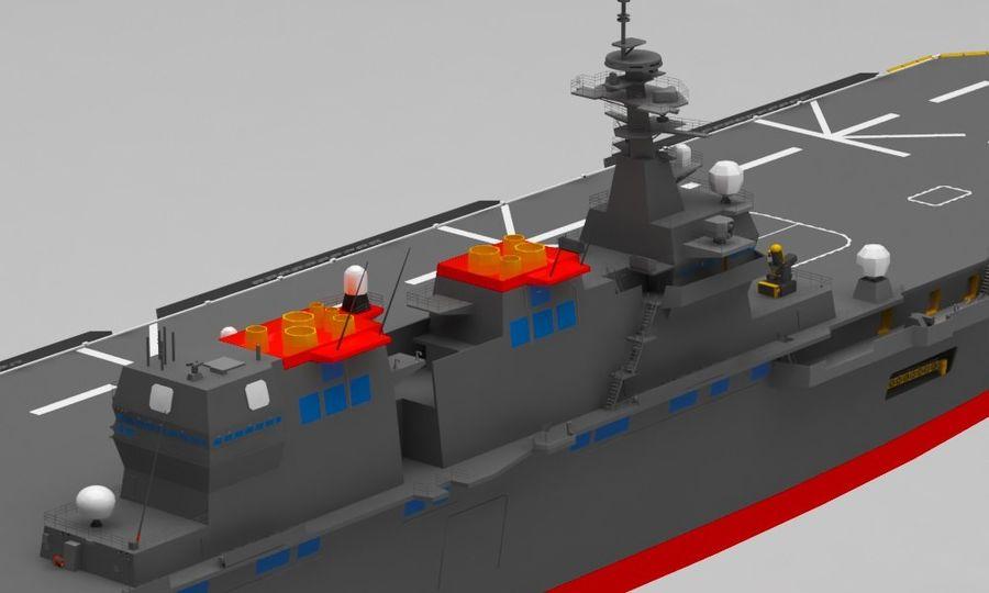 Statek marynarki wojennej royalty-free 3d model - Preview no. 11