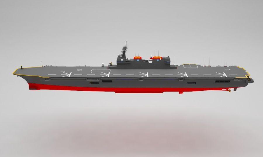 Statek marynarki wojennej royalty-free 3d model - Preview no. 2