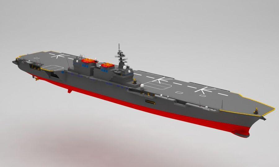 Statek marynarki wojennej royalty-free 3d model - Preview no. 8