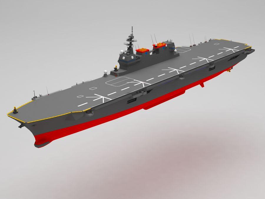 Statek marynarki wojennej royalty-free 3d model - Preview no. 1