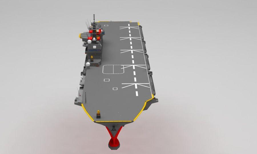Statek marynarki wojennej royalty-free 3d model - Preview no. 9