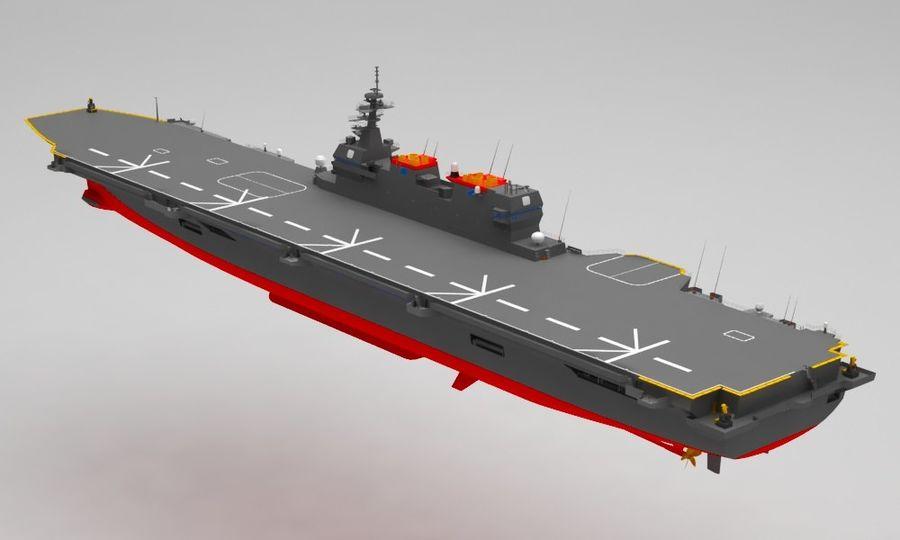 Statek marynarki wojennej royalty-free 3d model - Preview no. 3