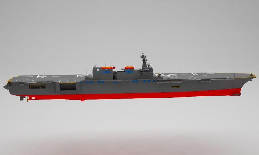 Statek marynarki wojennej royalty-free 3d model - Preview no. 7