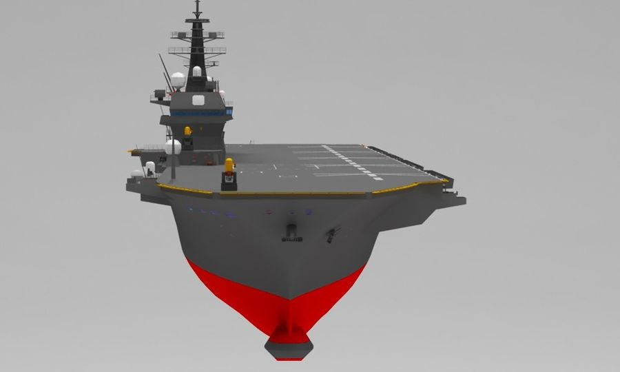 Statek marynarki wojennej royalty-free 3d model - Preview no. 10