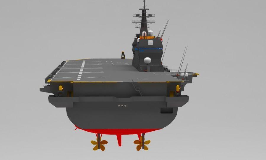 Statek marynarki wojennej royalty-free 3d model - Preview no. 5