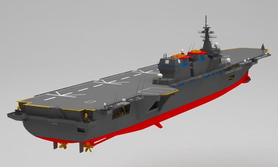 Statek marynarki wojennej royalty-free 3d model - Preview no. 6