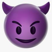 Devil Emoji 3d model