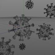 地中ウイルス 3d model