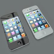 Сотовый телефон 4s 3d model