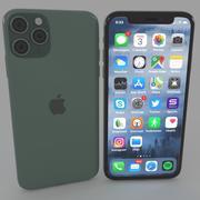 Сотовый телефон 11про 3d model