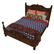 Sängkläder 68 3d model