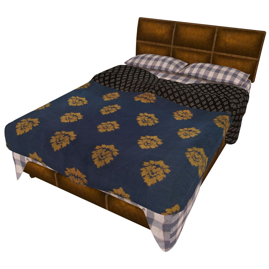 Bedcloth 119 royalty-free 3d model - Preview no. 1