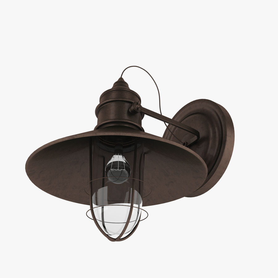 Outdoor Light royalty-free 3d model - Preview no. 3