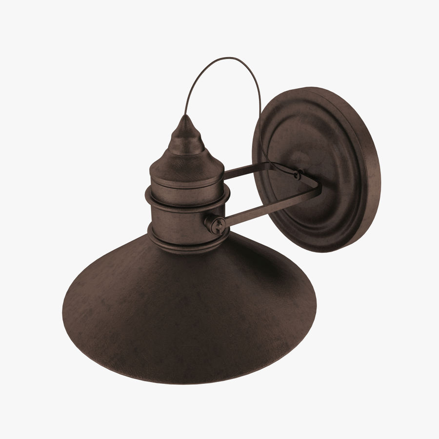 Outdoor Light royalty-free 3d model - Preview no. 4