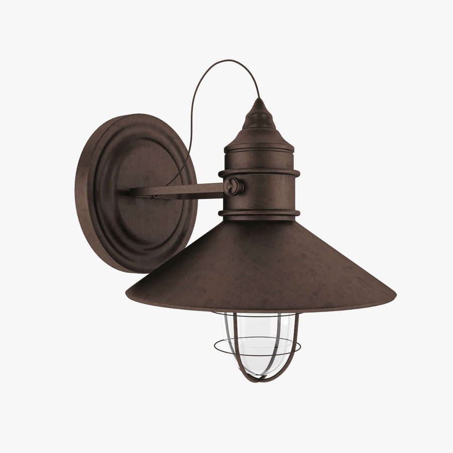 Outdoor Light royalty-free 3d model - Preview no. 1