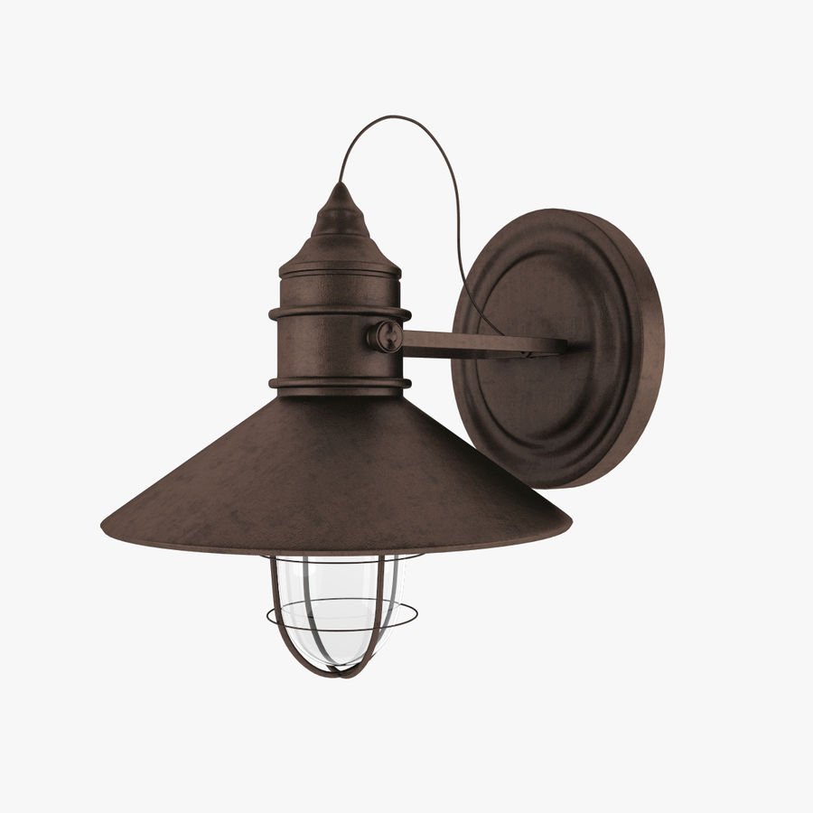 Outdoor Light royalty-free 3d model - Preview no. 2