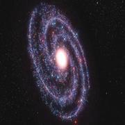 Galaxia modelo 3d