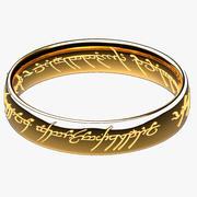 Den ena ringen (Lord of rings) 3d model