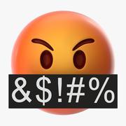 Mad Emoji 3d model