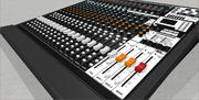 22 Channel Mixer / Digital Recorder 3d model