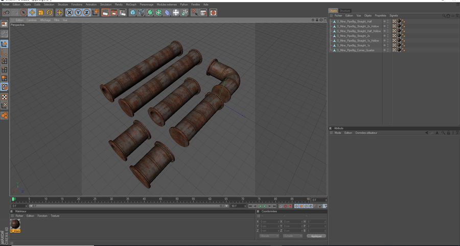 pipe royalty-free 3d model - Preview no. 10