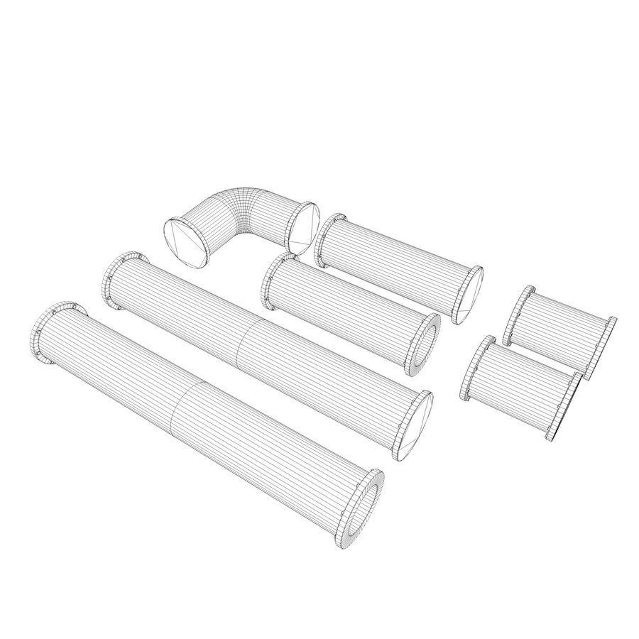 pipe royalty-free 3d model - Preview no. 7