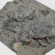 海滩岩石3D扫描(1) 3d model