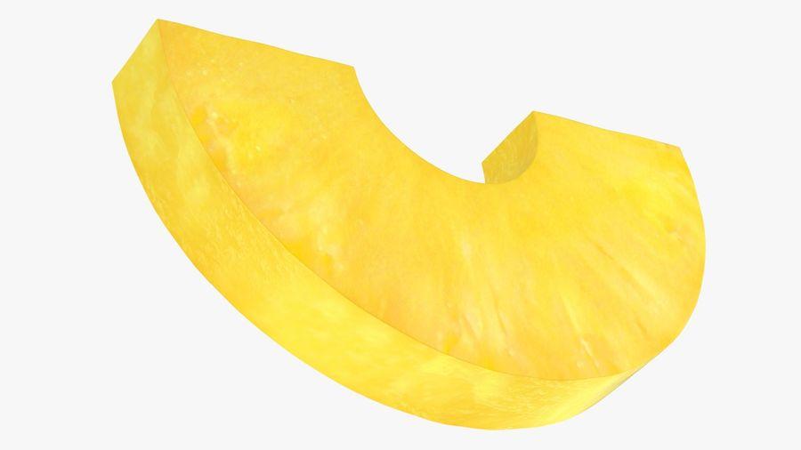 Plasterek Ananasa royalty-free 3d model - Preview no. 12