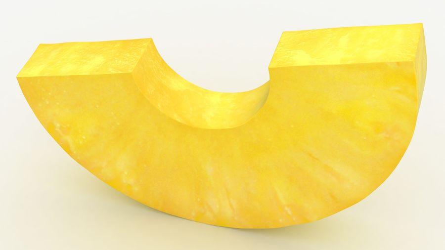 Plasterek Ananasa royalty-free 3d model - Preview no. 3