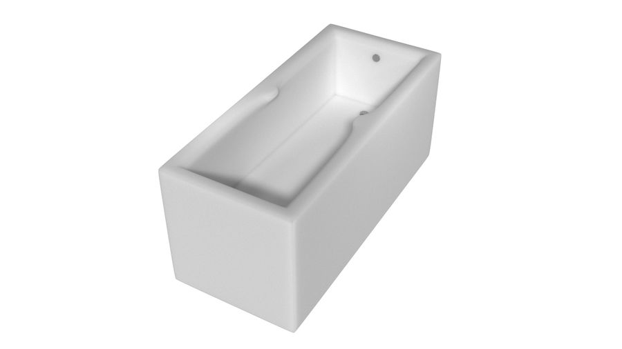 Vasca da bagno royalty-free 3d model - Preview no. 5