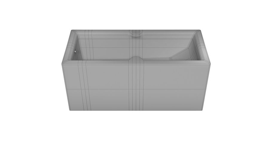 Vasca da bagno royalty-free 3d model - Preview no. 9