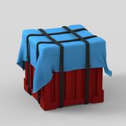 Pubg Airdrop With Parachute 3d model