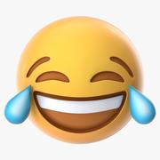 Tears Of Joy Emoji 3d model