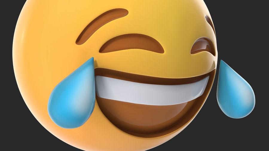 Emoji Utilería-Lágrimas de alegría
