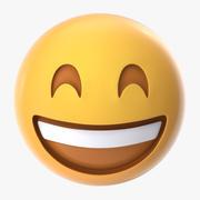 Very Happy Emoji 3d model