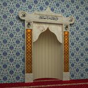Altar Mezquita - Mihrap modelo 3d