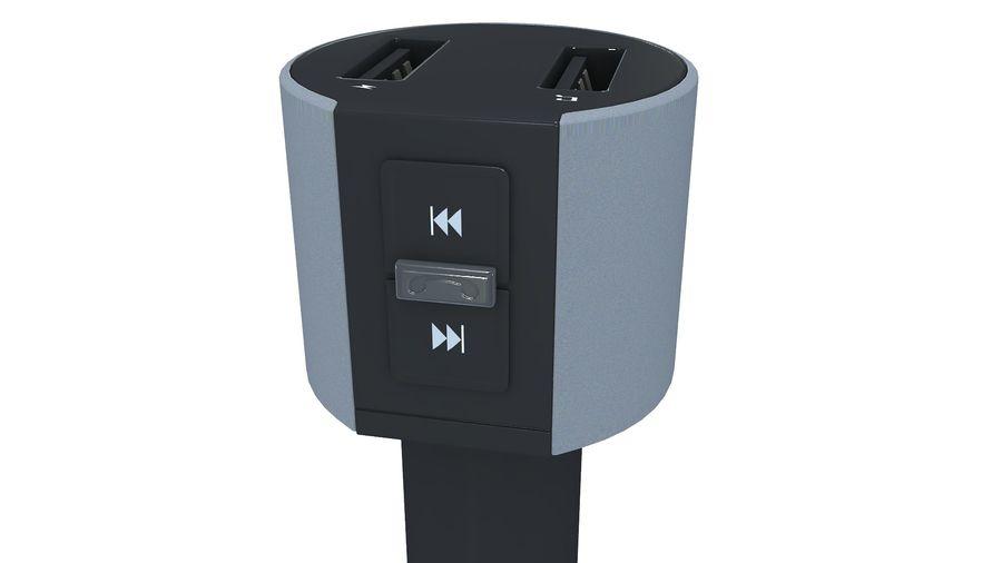 FM-autozender royalty-free 3d model - Preview no. 11