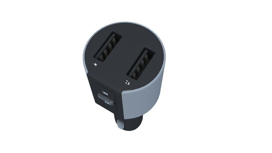 FM-autozender royalty-free 3d model - Preview no. 12