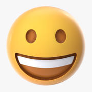 Emoji lachen 3d model