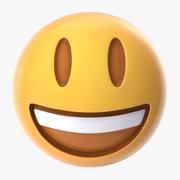 Smiling Emoji 3d model