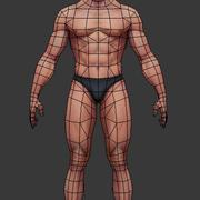 남성의 몸 3d model