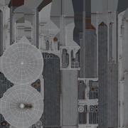 Funkturm 01 3d model